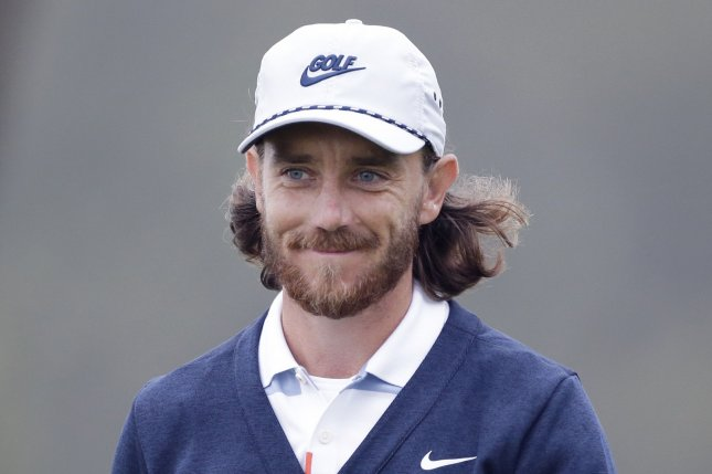 Tommy Fleetwood also had a hole-in-one at the Match Play Championship two weeks ago. File Photo by John Angelillo/UPI