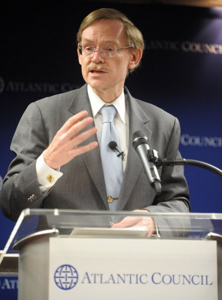 World Bank President Robert Zoellick. UPI/Roger L. Wollenberg