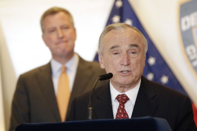New York Police Commissioner Bill Bratton said he didn't want to jinx the city's ongoing record 11 days without a homicide. File photo by John Angelillo/UPI