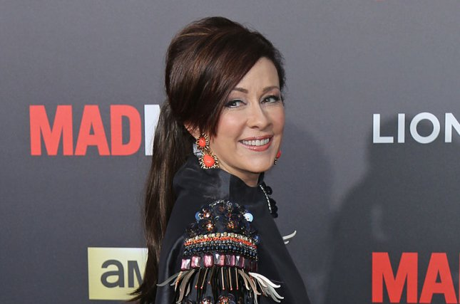 Patricia Heaton at the 'Mad Men' Black & Red Ball on March 25. The actress will host new Food Network show 'Patricia Heaton Parties.' File photo by David Silpa/UPI