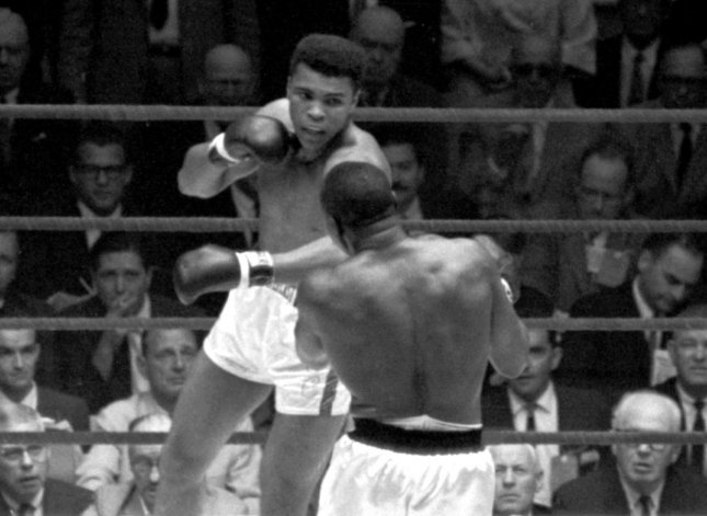 Boxing great Muhammad Ali died at the age of 74 in Phoenix, Arizona on Saturday, June 4, 2016. He is shown as the 22-year old Cassius Clay defeating Sonny Liston on February 25, 1964 at the Convention Hall in Miami, Florida. After this fight, Cassius Clay changed his name to Muhammad X and then to Muhammad Ali. UPI
