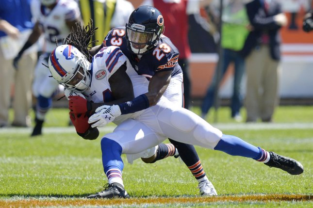 Buffalo Bills wide receiver Sammy Watkins is playing on the final guaranteed year of his rookie contract. File photo by Brian Kersey/UPI
