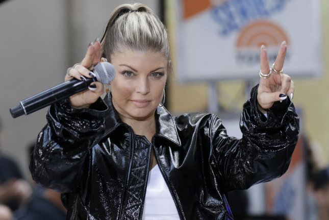 Fergie performs on Today on Friday. The singer shared a video for her song Enchanté (Carine) the day previous. Photo by John Angelillo/UPI