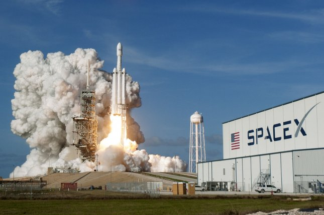 SpaceX's Falcon Heavy completes engine test fire, readies for first commercial launch