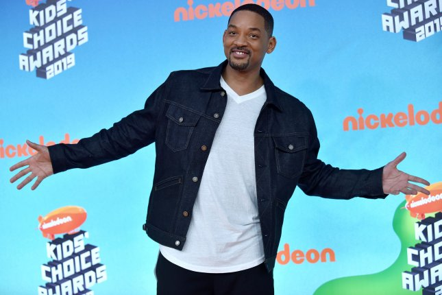 Will Smith won a Webby Award alongside others stars such as Jimmy Fallon and Ellen DeGeneres.  File Photo by Chris Chew/UPI