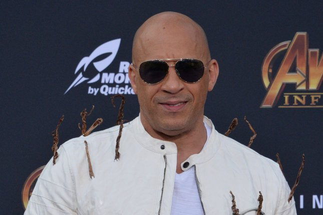 Vin Diesel's F9 is delayed until June 25. File Photo by Jim Ruymen/UPI