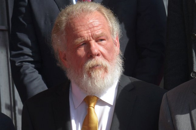 Actor Nick Nolte reportedly will co-star in a new Star Wars live-action series for Disney+. File Photo by Jim Ruymen/UPI