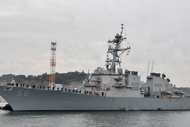 Arleigh Burke-class destroyer USS John S. McCain (DDG-56) is seen arrivals after conduct comprehensive at-sea testing at Fleet Activities Yokosuka in Yokosuka, Kanagawa-Prefecture, Japan in November 2019. Navy officials said this week that they are canceling plans to extend the lives of the Burke-class destroyer fleet. Photo by MORI Keizo/UPI
