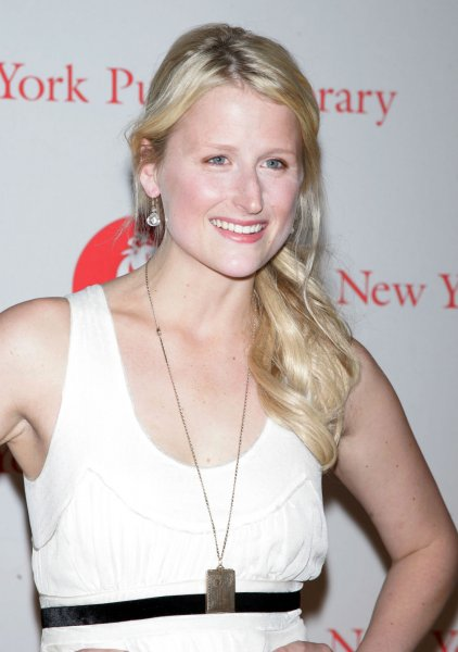 Mamie Gummer arrives at the 2008 Library Lions Benefit at the New York Public Library in New York on November 3, 2008. (UPI Photo/Laura Cavanaugh)