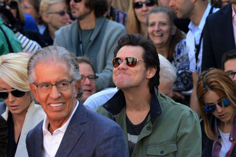Dumb and Dumber to actor, Jim Carrey. UPI/Jim Ruymen