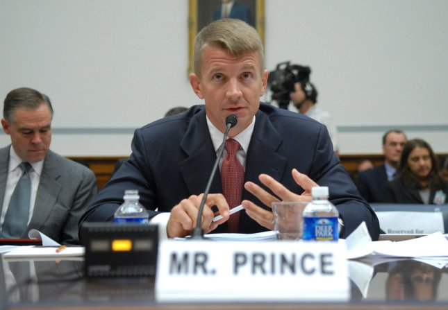 Chairman of Blackwater USA Erik Prince testifies before a House Oversight and Government Reform Committee hearing on private security contracting in Iraq in Washington on October 2, 2007. (UPI Photo/Kevin Dietsch)