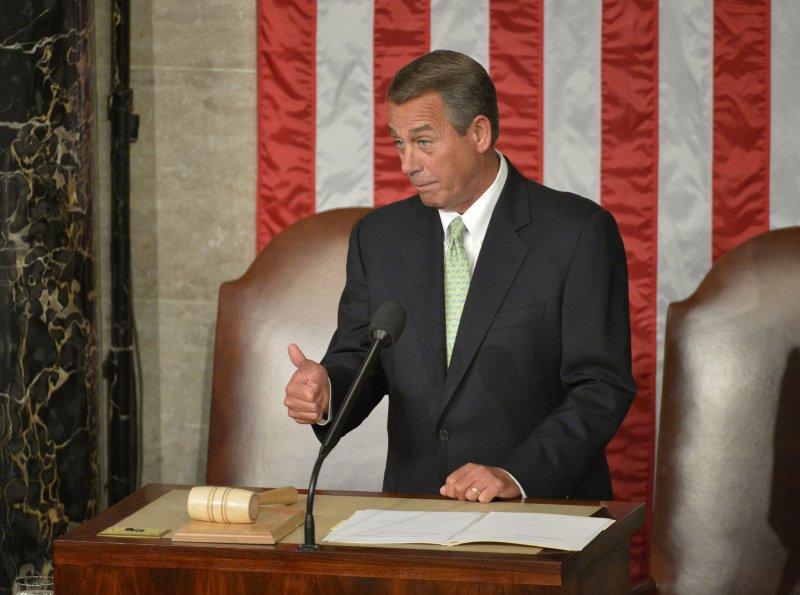 Speaker of the House John Boehner UPI/Kevin Dietsch