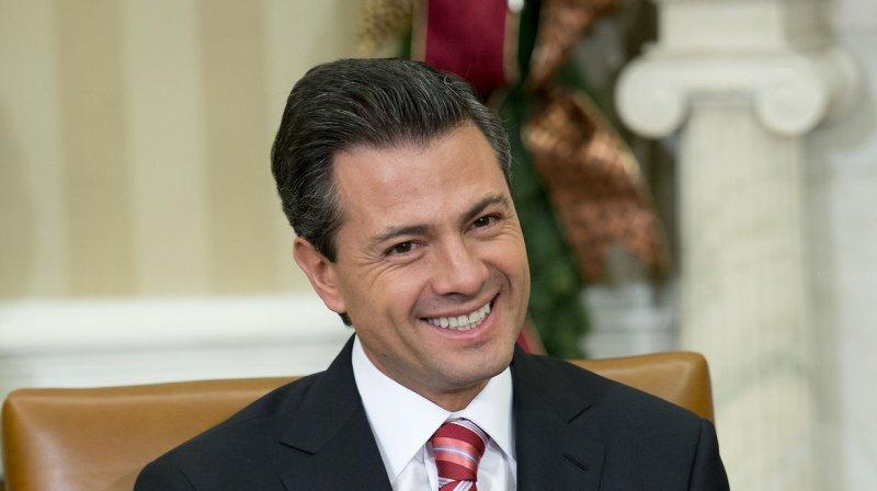 President Enrique Peña Nieto of Mexico. UPI/ Ron Sachs/Pool