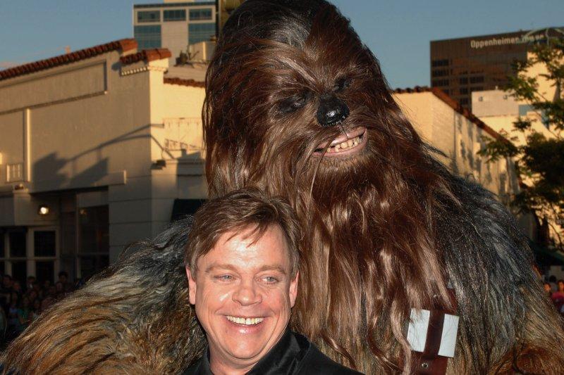 U.S. actor Mark Hamill, who played Luke Skywalker in the original Star Wars film. (File/UPI Photo/Jim Ruymen)