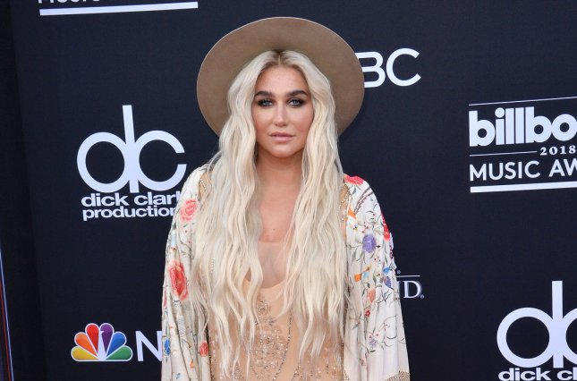 Kesha stars in a behind-the-scenes documentary about her newest album, Rainbow. File Photo by Jim Ruymen/UPI