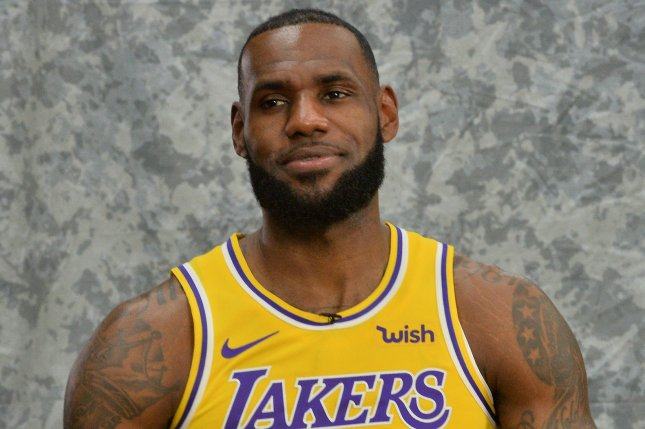 sale retailer f69e5 156f4 Lakers' LeBron James to make home debut against Rockets ...
