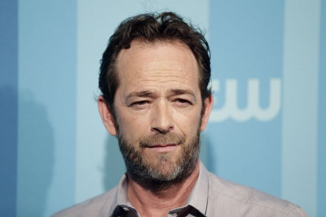 Luke Perry received well wishes on social media from his Riverdale and Beverly Hills, 90210 co-stars including Cole Sprouse and Shannen Doherty. File Photo by John Angelillo/UPI