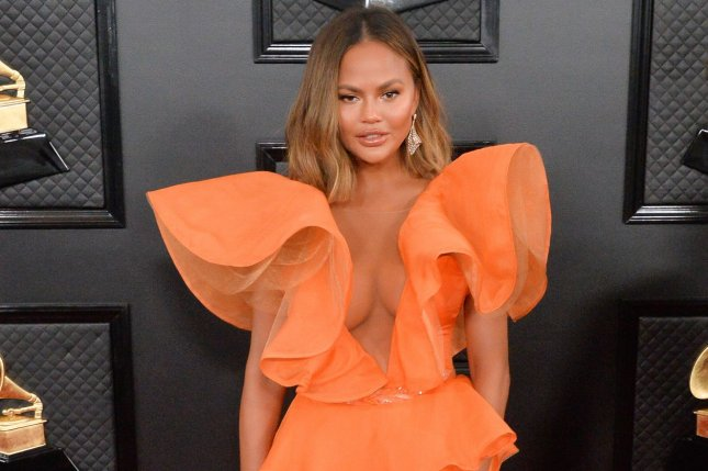 Chrissy Teigen won't be heard as planned in Season 2 of Never Have I Ever. File Photo by Jim Ruymen/UPI