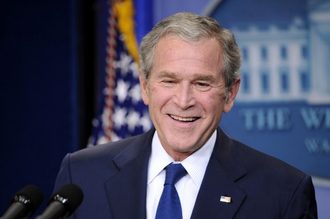 George W. Bush joins 1 million in U.S. who get a stent each year. President George W. Bush delivers remarks during a press conference at the White House in Washington on January 12, 2009. (UPI Photo/Kevin Dietsch)