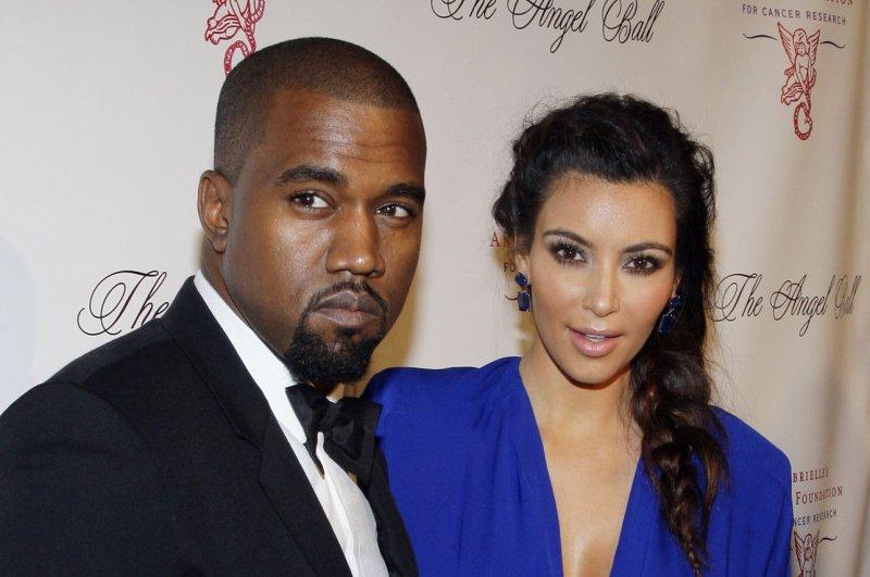 Kim Kardashian and Kanye West are now engaged. UPI/John Angelillo
