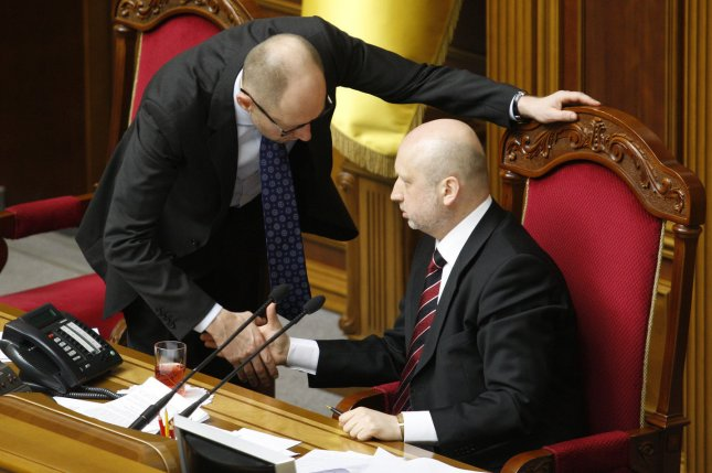 Ukraine says it will impose martial law if peace talks fail