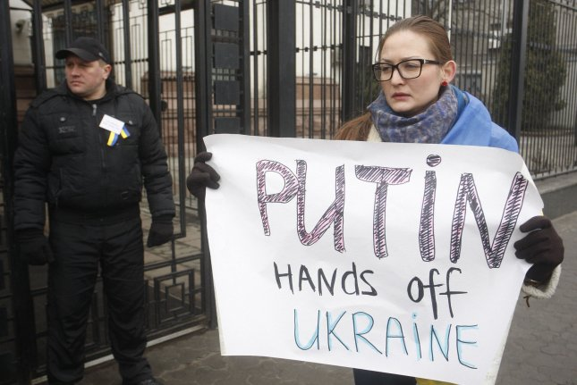 The United States and NATO denounced the recent elections held in Ukraine's Crimea Peninsula as illegitimate because they occurred under Russian occupation.(UPI/Ivan Vakolenko)