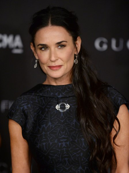 Demi Moore attends the fourth annual LACMA Art + Film gala honoring Barbara Kruger and Quentin Tarantino in Los Angeles in 2014. File Photo by Jim Ruymen/UPI