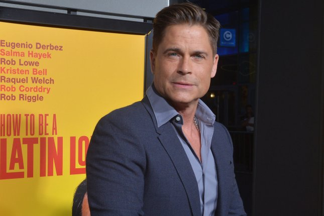 Cast member Rob Lowe attends the premiere of the motion picture comedy How to Be a Latin Lover in Los Angeles. Lowe had a cameo as a blue alien in the pilot episode of The Orville. File Photo by Jim Ruymen/UPI