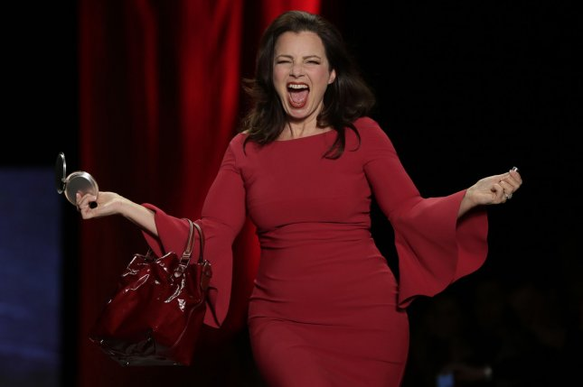 Fran Drescher is working on a Broadway musical version of her sitcom, The Nanny. File Photo by John Angelillo/UPI