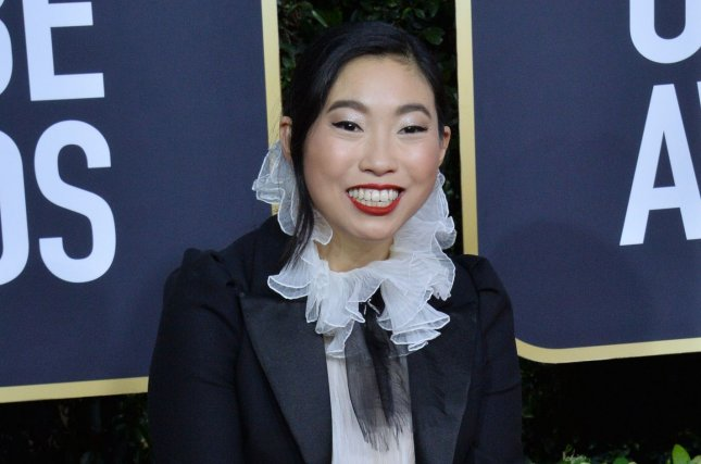 Awkwafina will star in upcoming drama Swan Song which also stars Mahershala Ali and Naomie Harris. File Photo by Jim Ruymen/UPI