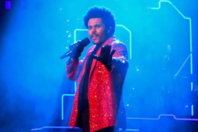 The Weeknd previewed new music on social media with a teaser trailer. File Photo by Kevin Dietsch/UPI