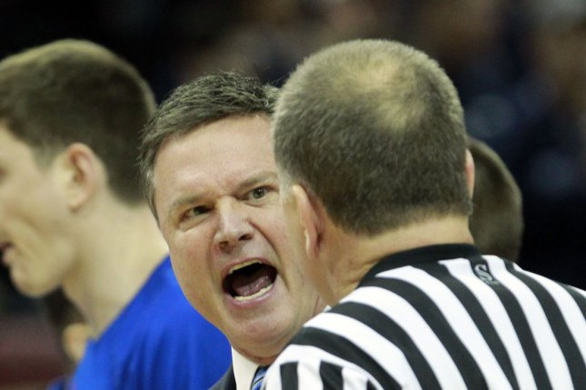 University of Kansas head coach Bill Self. Photo by John Sommers II/UPI