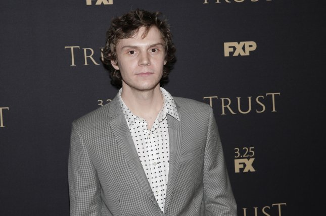 Evan Peters played Tate Langdon in American Horror Story: Murder House. File Photo by John Angelillo/UPI