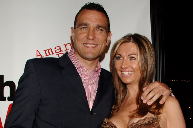 Actor Vinnie Jones is moruning the death of his wife Tanya this weekend. She was 53. File Photo by Jim Ruymen/UPI