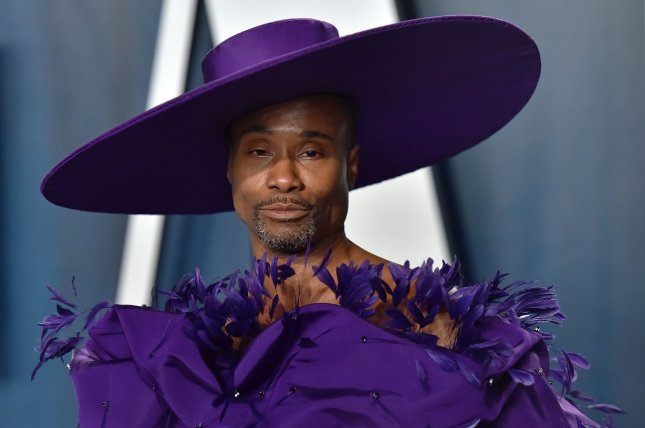 Billy Porter arrives for the Vanity Fair Oscar party in February 9, 2020. Porter appeared in last year's Can't Cancel Pride event, which is returning on June 4. File Photo by Chris Chew/UPI