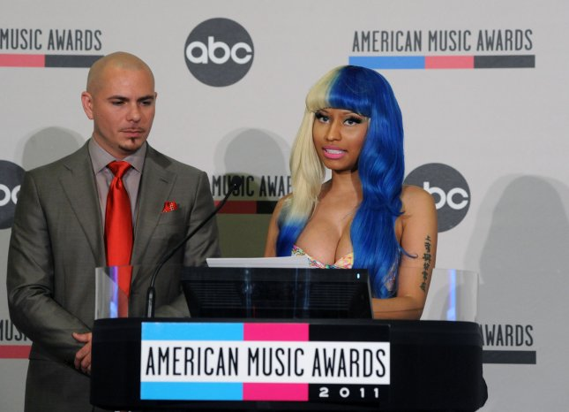 Nicki Minaj is set to perform at the Victoria's Secret Fashion Show. UPI/Jim Ruymen
