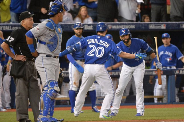 19a57a152ab Toronto Blue Jays bash their way back into ALCS - UPI.com