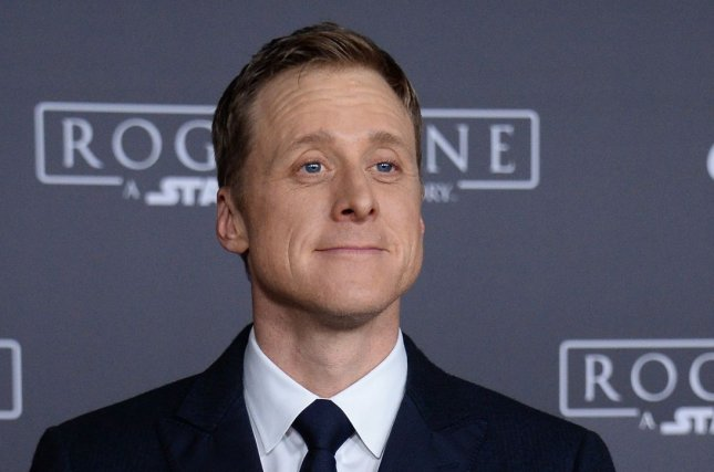 Cast member Alan Tudyk attends the premiere of Rogue One: A Star Wars Story' in Los Angeles on December 10, 2016. The actor is to appear on Season 2 of Dirk Gently's Holistic Detective Agency. File Photo by Jim Ruymen/UPI