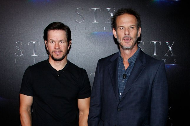 Actor Mark Wahlberg (L) and director Peter Berg are working together on the detective drama Wonderland for Netflix. File Photo by James Atoa/UPI