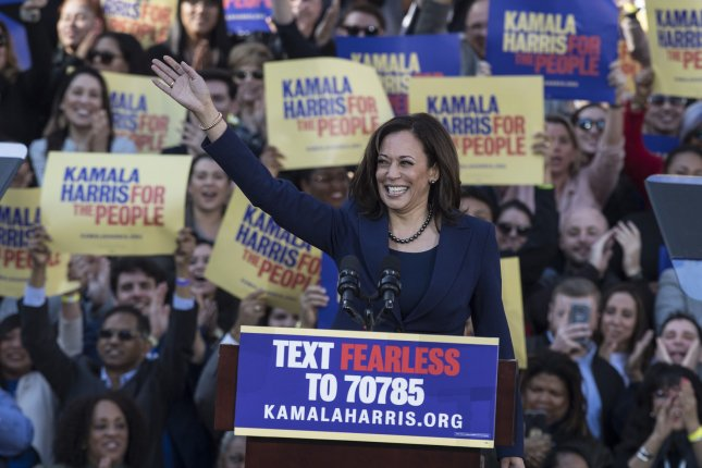 Harris emerges as frontrunner to oust Trump as rivals circle