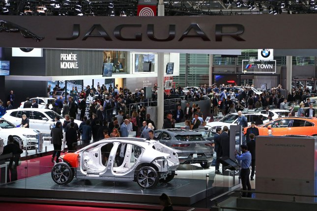 New vehicles and auto technology on display at the Paris Motor Show last year. File Photo by David Silpa/UPI