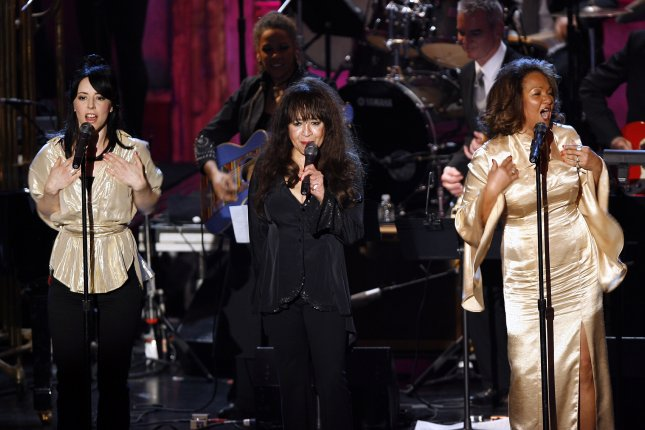 Veronica Ronnie Spector (C) -- seen here with Estelle Bennett and Nedra Talley of the Ronettes -- spoke out Sunday about the death of her ex-husband, music producer Phil Spector.  File Photo by John Angelillo/UPI