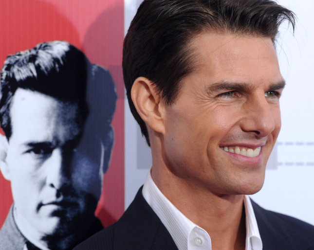 Actor Tom Cruise, who stars in the historical war thriller motion picture Valkyrie, attends the Los Angeles premiere of the film at the Directors Guild of America in Los Angeles on December 18, 2008. (UPI Photo/Jim Ruymen)