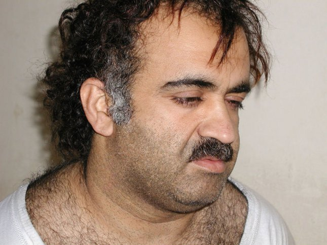 Khalid Sheikh Mohammed, the alleged Sept. 11 mastermind seen here shortly after his capture in 2001, told a U.S. military court today, June 5, 2008 in Guantanamo Bay, that he wishes for the death penalty so that he can become a martyr. Mohammed and four accused co-conspirators appeared in court at the Guantanamo Bay U.S. naval base in Cuba for the first time on charges that could result in their execution. (UPI Photo/Handout)