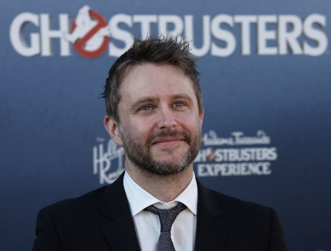 Chris Hardwick attends the premiere of Ghostbusters in Los Angeles on July 9, 2016. Hardwick is to host NBC's Red Nose Day Special. File Photo by Jim Ruymen/UPI