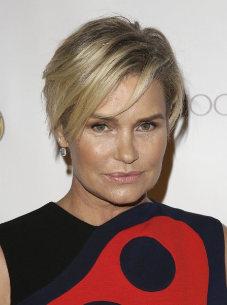 Yolanda Hadid attends the Global Lyme Alliance gala on October 8, 2015. The reality star confessed to a moment of despair in her memoir, Believe Me: My Battle with the Invisibility of Lyme Disease. File Photo by John Angelillo/UPI