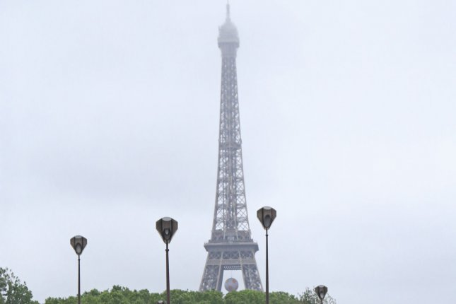 The Eiffel Tower closed to tourists on Wednesday afternoon after workers went on strike against management's decision to change the ticketing process, which resulted in long lines. File Photo by David Silpa/UPI