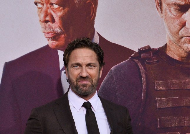 Cast member Gerard Butler attends the premiere of Angel Has Fallen in Los Angeles on August 20. File Photo by Jim Ruymen/UPI