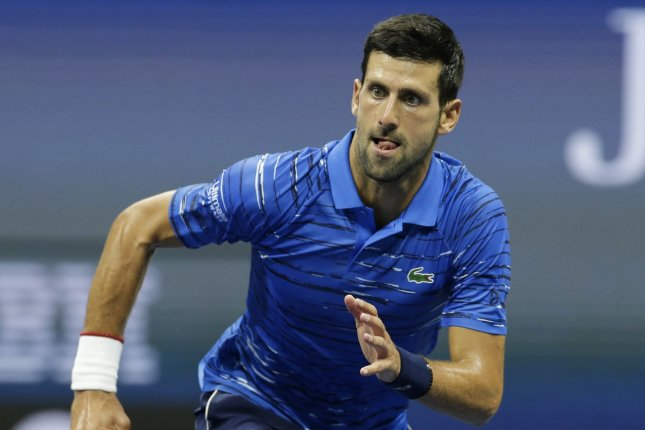 Novak Djokovic is expected to set the record for total weeks as the No. 1 men's tennis player when the next edition of the ATP rankings are released March 9. File Photo by John Angelillo/UPI