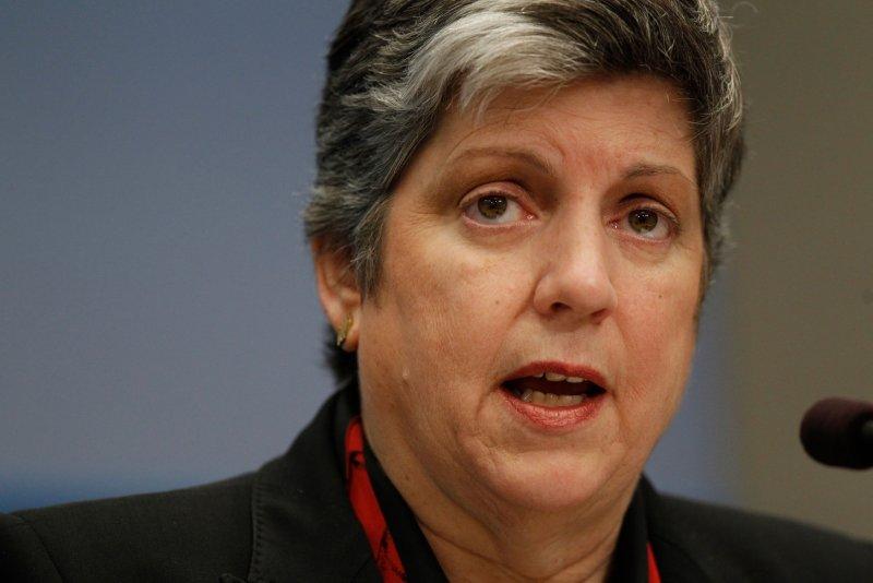 University of California President Janet Napolitano. UPI/Molly Riley
